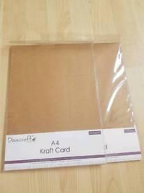 Kraft card