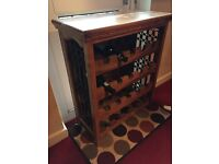 Heavy weight solid Wine Rack