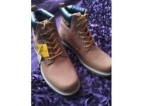 Caterpillar Boots Size 6
