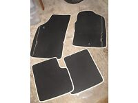 FIAT 500 CAR MATS - GENUINE FIAT - VERY GOOD CONDITION