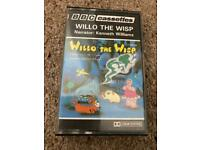 12 stories from the Willo the Wisp BBC series on cassette.