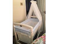 Silver Cross Baby Crib