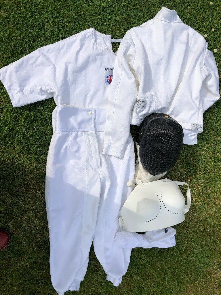 Fencing Mask and Paul fencing outfit £60 | in Wollaton, Nottinghamshire |  Gumtree