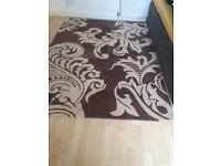 Bargain brown/ beige rug 210 x 150 cm