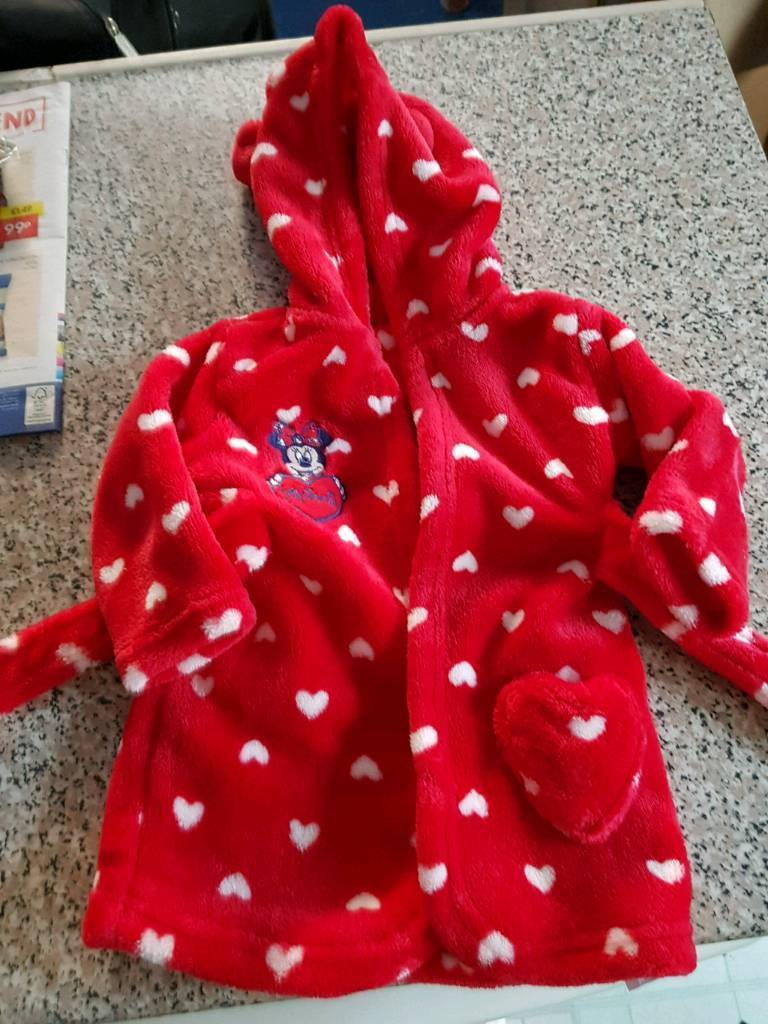 Minnie mouse dressing gown 3-6 months   in Bournemouth, Dorset   Gumtree