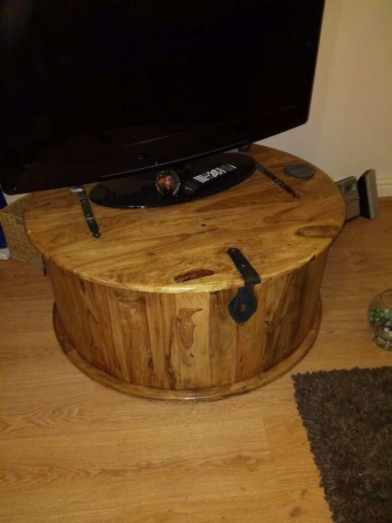 occasional table with storage