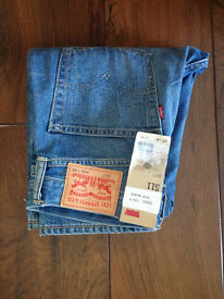New Levi's Men's 511 Slim Fit Jeans, Blue (Billy Ray), W31/L34