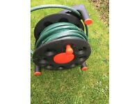 Garden Hose Pipe on Reel