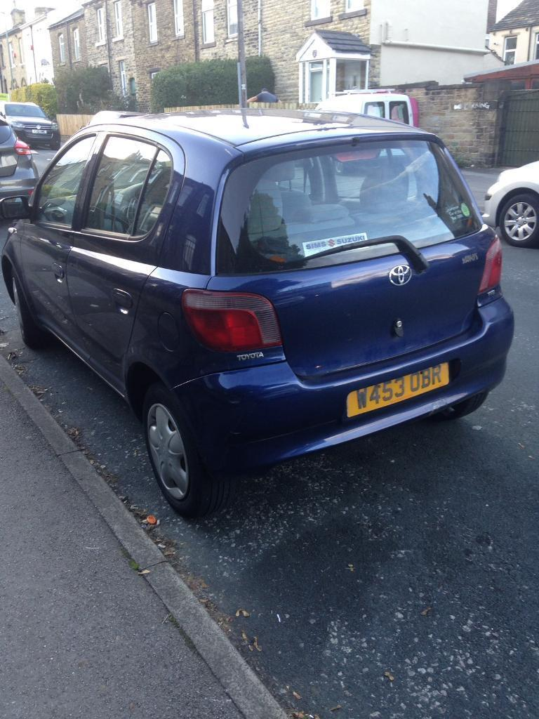 5 door. Yaris. I. Litre. W reg.