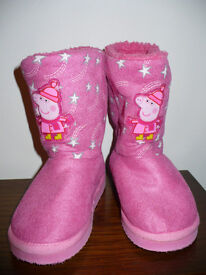 Peppa Pig boots size 10 (EU 28) in excellent condition..