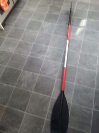 Kayak paddle used 207cm hp1 canoe supply company