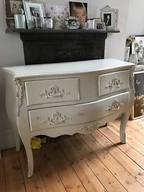 french armoire style vintage chest of drawers
