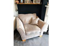 Armchair - Taskers Furniture - Amethyst Standard Chair - Mink Colour