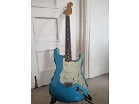 As New: Fender Stratocaster Classic Series '60 - Lake Placid Blue