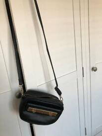 Black cross over bag