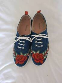 TOPSHOP trainers size 6