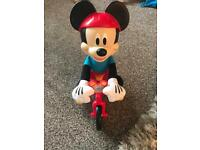 Mickey Mouse on bike toy