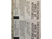 Chessington tickets 2 for £15