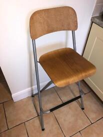 Pair of two bar stools