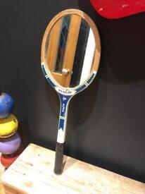 quirky tennis racket mirror prop decoration kids room curio