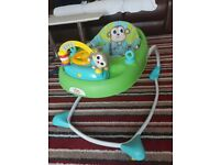 Baby Walker, good as new, barely used, adjustable, won't scratch walls and doors, plays music