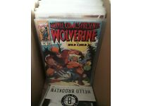 50 comic book bundle (x-men, robin, inhumans)