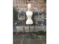 Stockman like vintage dress mannequin