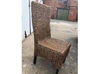 6 chairs & table FREE LOCAL DELIVERY