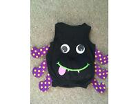 Spider costume to baby 9-12 months