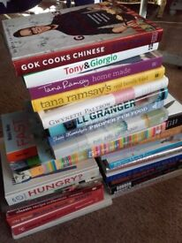 Cooking books various chefs x27