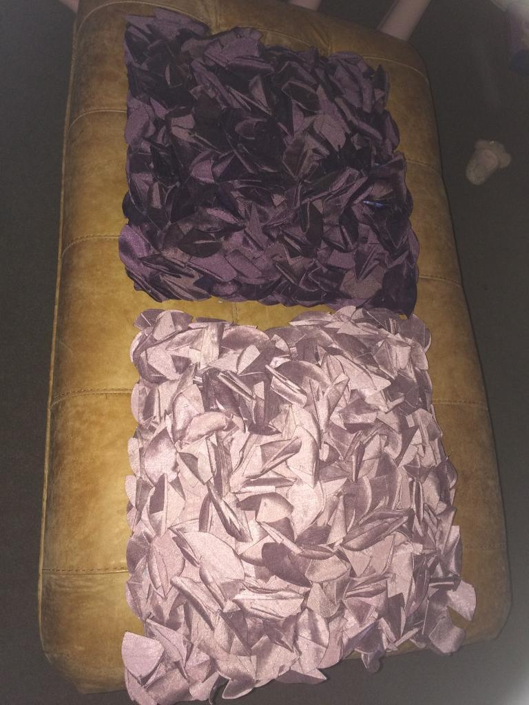 Pair of cushion covers with inners