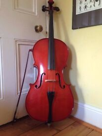 'Cello, 3/4 size with soft case
