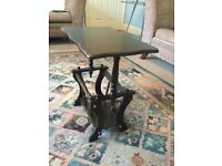 Solid Wood Coffee Table / Hall Table with Magazine Rack Underneath see desc for siz