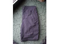 "Regatta Adventure Tech Walking / Travel trousers 32"" waist"