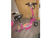 Pink Razor Rocket Electric Scooter