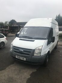 Ford Transit Long wheel base 2008