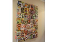 Canvas Print of the DC Comics. Can Deliver.