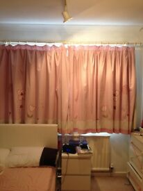Next Friends Flowers Curtains Lined EXCELLENT CONDITION £30