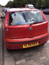 Fiat Punto 1.2 8v Active Hatchback 5d 1242cc Registered in 2004 Red