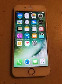 IPhone 6s rose gold 16gb o2/giffgaff excellent can deliver/drop off