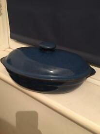 Imperial Blue Denny serving dish