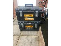 Dewalt storage boxes