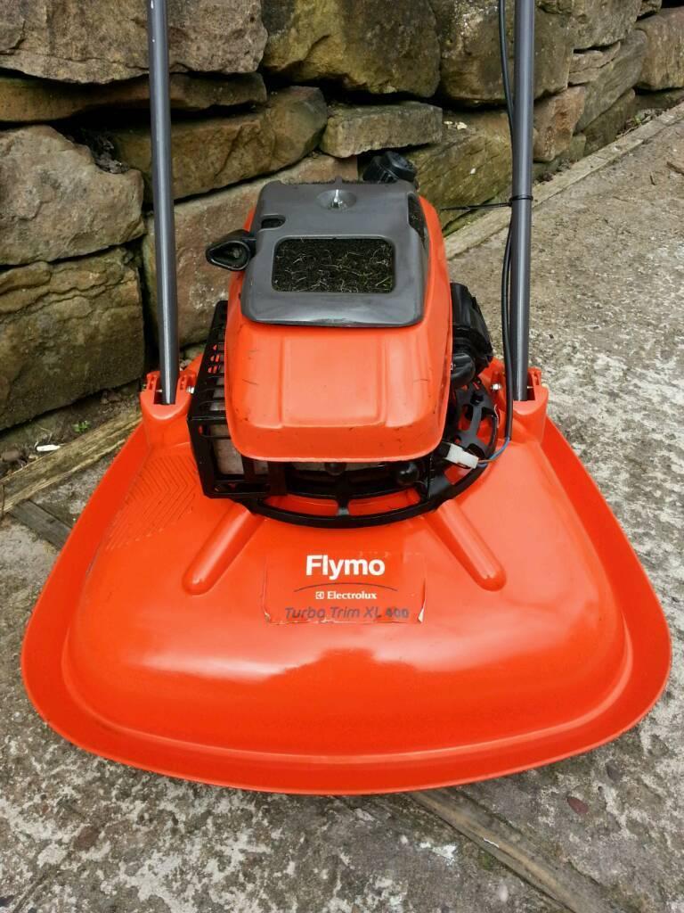 petrol flymo xl400 turbo in mansfield nottinghamshire. Black Bedroom Furniture Sets. Home Design Ideas