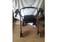 Mobility walker and Tea trolley
