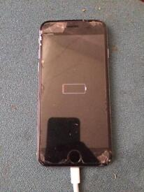 iPhone great condition needs new screen 16gb