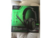 XBox 360 Amplified Headset - brand new and sealed in box