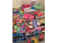 Mega Bundle Loom Bands, Beads and accessories