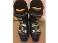 Salomon Ski Boots, Size 9 (42 Euro) - Excellent Condition