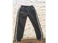 Kappa Trousers Black Hype