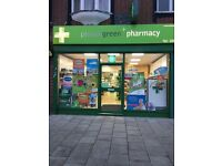 Pharmacy Technician/Dispenser and Shop Supervisor in Worcester Park, Surrey